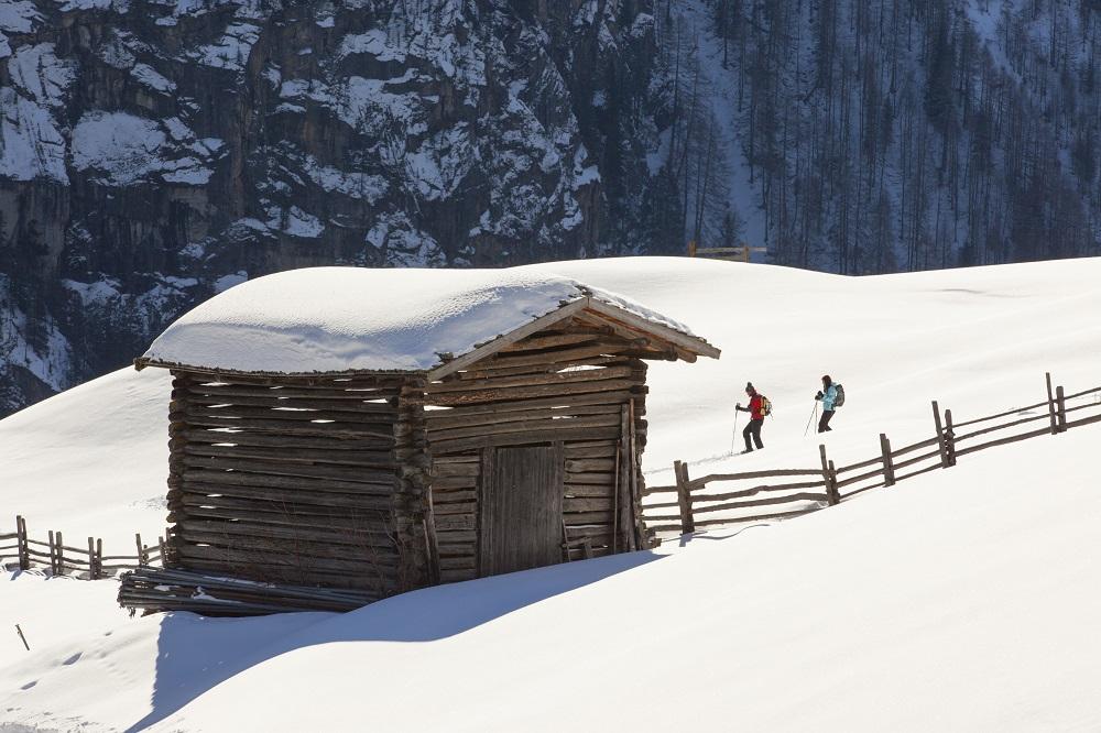 Suedtirol, Vinschgau, Winter, Martelltal, Schneeschuhe, wandern, Wintersport, Tiefschnee,